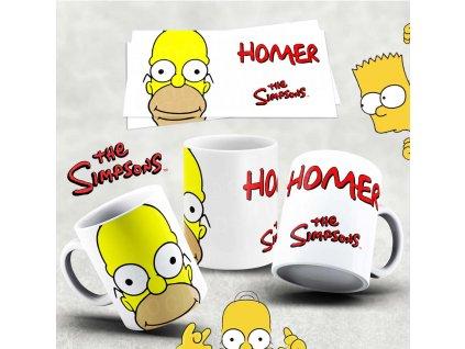 Hrneček s motivem Simpsonovi- 34