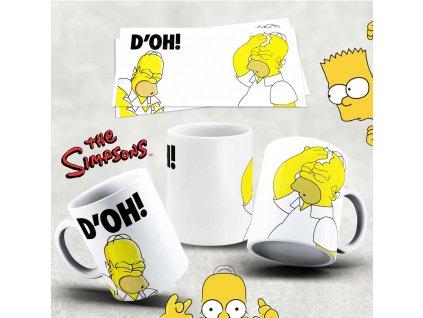Hrneček s motivem Simpsonovi- 41