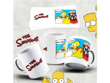 Hrneček s motivem Simpsonovi- 42