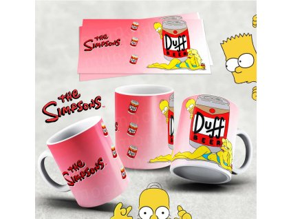 Hrneček s motivem Simpsonovi- 43
