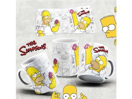 Hrneček s motivem Simpsonovi- 48