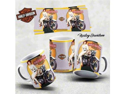 Hrneček s motivem-  Harley Davidson 10