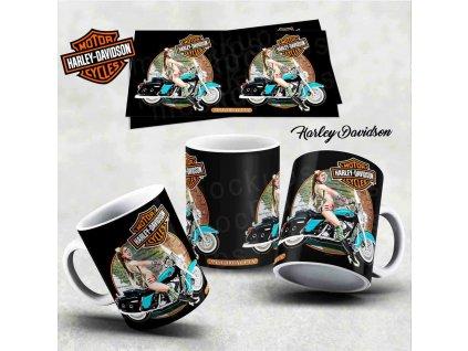 Hrneček s motivem-  Harley Davidson 28