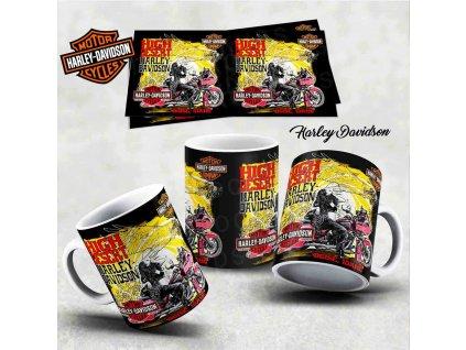 Hrneček s motivem-  Harley Davidson 29