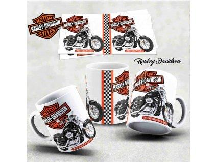 Hrneček s motivem-  Harley Davidson 33