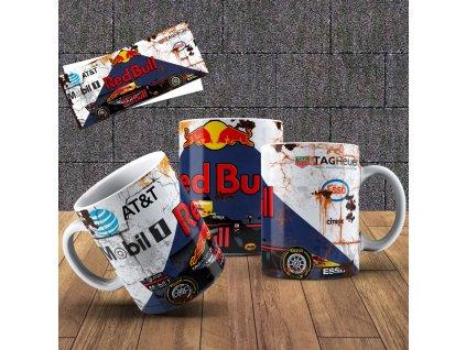 Hrneček s motivem Formule- Red Bull