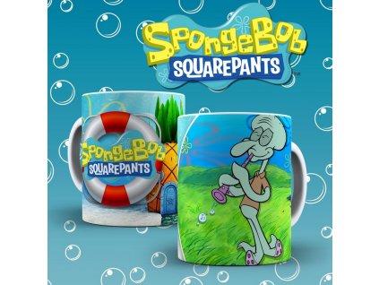 Hrneček s motivem ze seriálu  SpongeBob 4