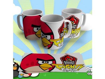 Hrneček s motivem ze seriálu  Angry Birds 8