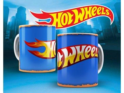 Hrneček s motivem ze seriálu  Hot wheels 3