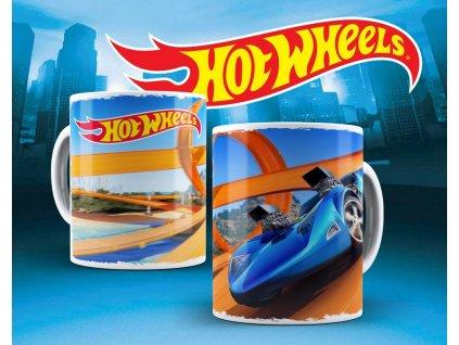Hrneček s motivem ze seriálu  Hot wheels 4