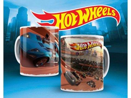 Hrneček s motivem ze seriálu  Hot wheels 8