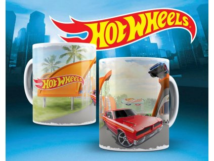 Hrneček s motivem ze seriálu  Hot wheels 9