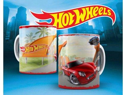 Hrneček s motivem ze seriálu  Hot wheels 11