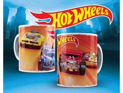Hrneček s motivem ze seriálu  Hot wheels 12
