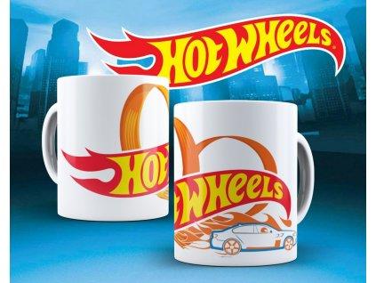 Hrneček s motivem ze seriálu  Hot wheels 15