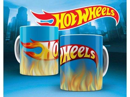 Hrneček s motivem ze seriálu  Hot wheels 16
