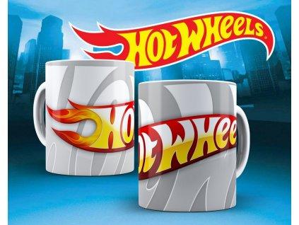 Hrneček s motivem ze seriálu  Hot wheels 17