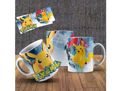 Hrneček s motivem ze seriálu  Pokémon 11