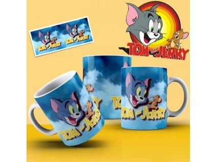 Hrneček s motivem ze seriálu  Tom a Jerry 10