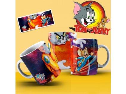 Hrneček s motivem ze seriálu  Tom a Jerry 11