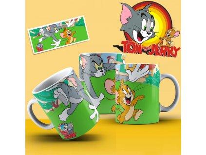 Hrneček s motivem ze seriálu  Tom a Jerry 13