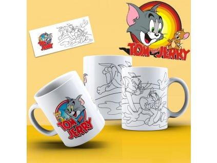 Hrneček s motivem ze seriálu  Tom a Jerry 16
