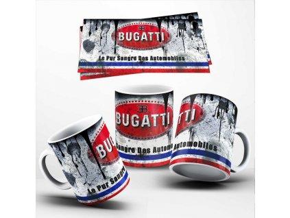 Hrneček se značkou vozů Bugatti 07