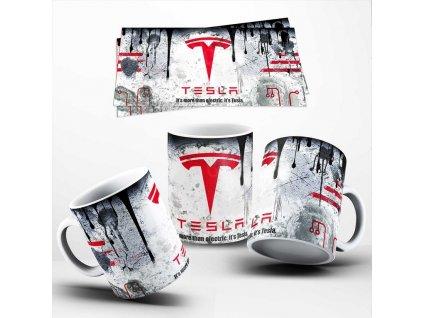 Hrneček se značkou vozů Tesla 039