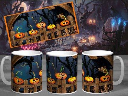 Halloweenský hrneček- Halloween 2