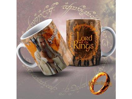 Hrneček z filmu Lord of the rings / Pán Prstenů- Saruman