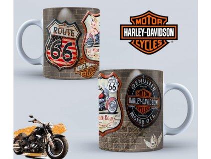 Hrneček s motivem-  Harley Davidson 43