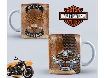Hrneček s motivem-  Harley Davidson 46