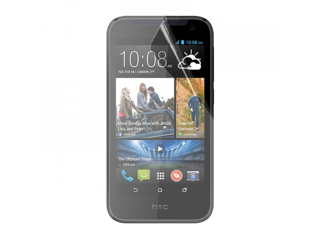Čirá ochranná fólie TVC ScreenShield pro HTC Desire 310