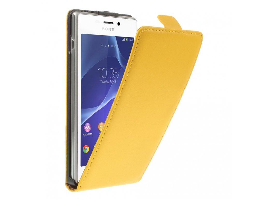 Kožené pouzdro pro Sony Xperia M2