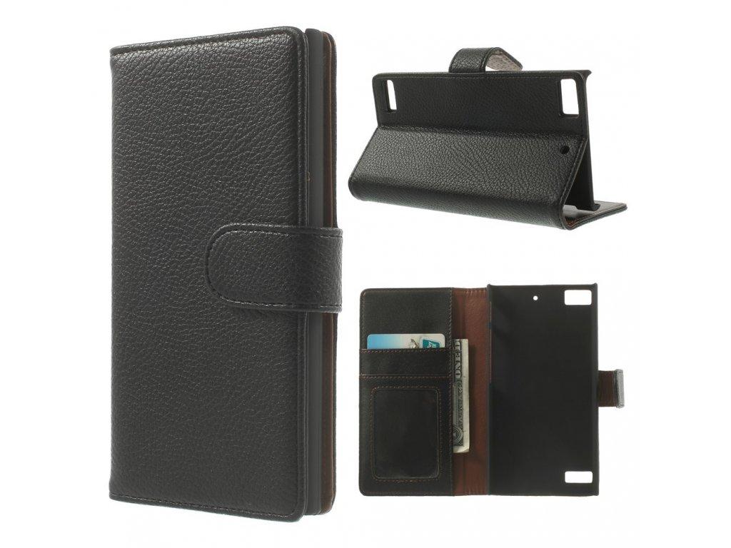 Koženkové pouzdro TVC WalletCase pro Blackberry Z3