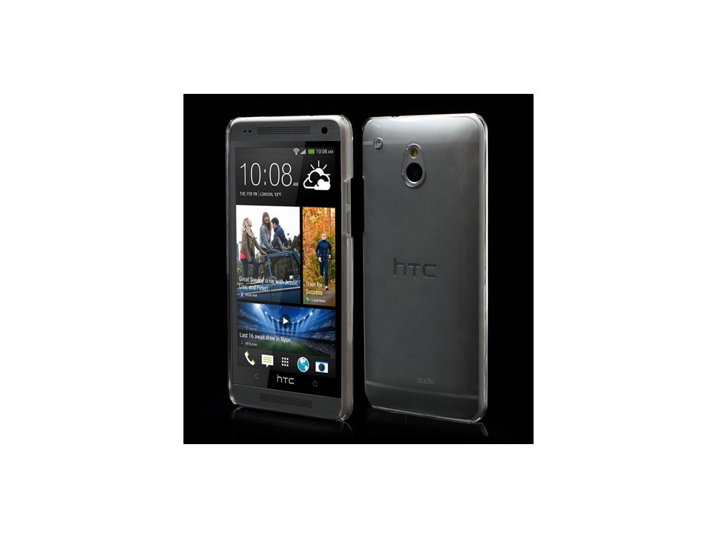 Průhledné pouzdro pro HTC One Mini