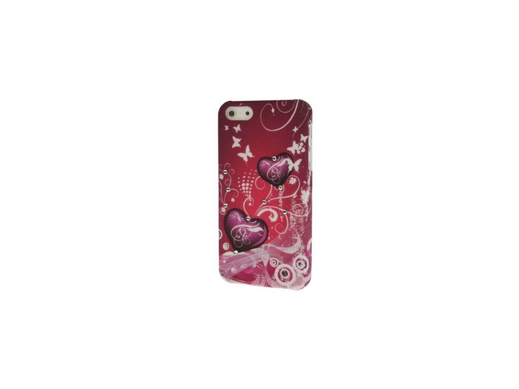 Pouzdro se srdíčkem pro Apple iPhone 5/5S