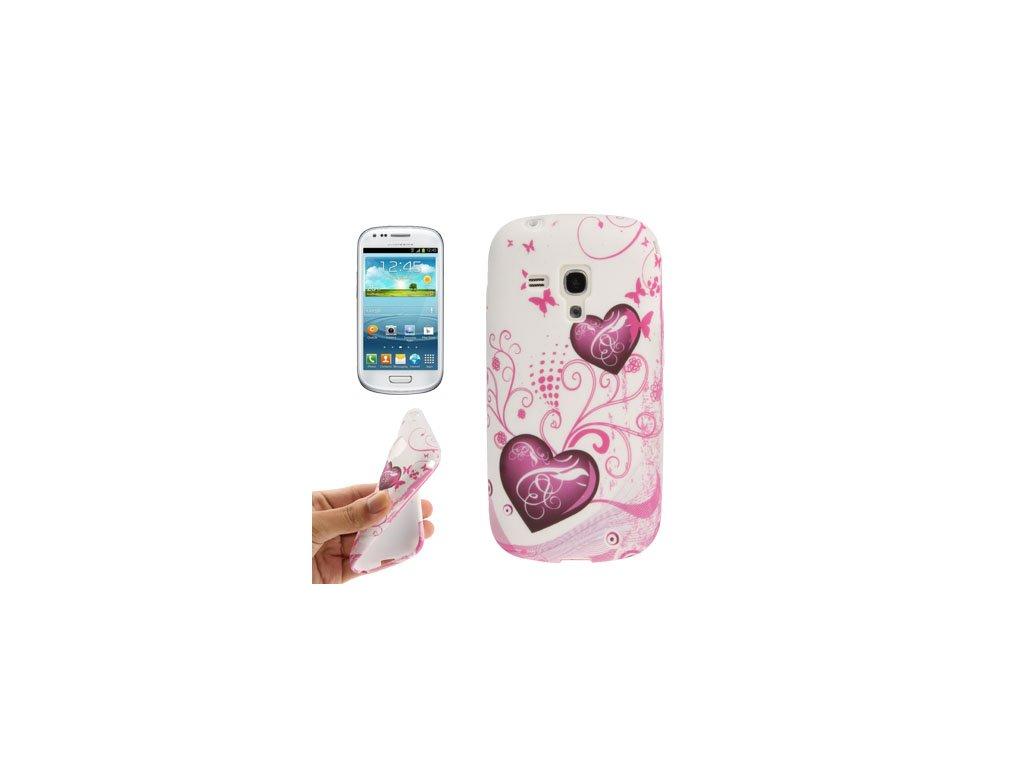 Pouzdro se srdíčkem pro Samsung Galaxy S III mini