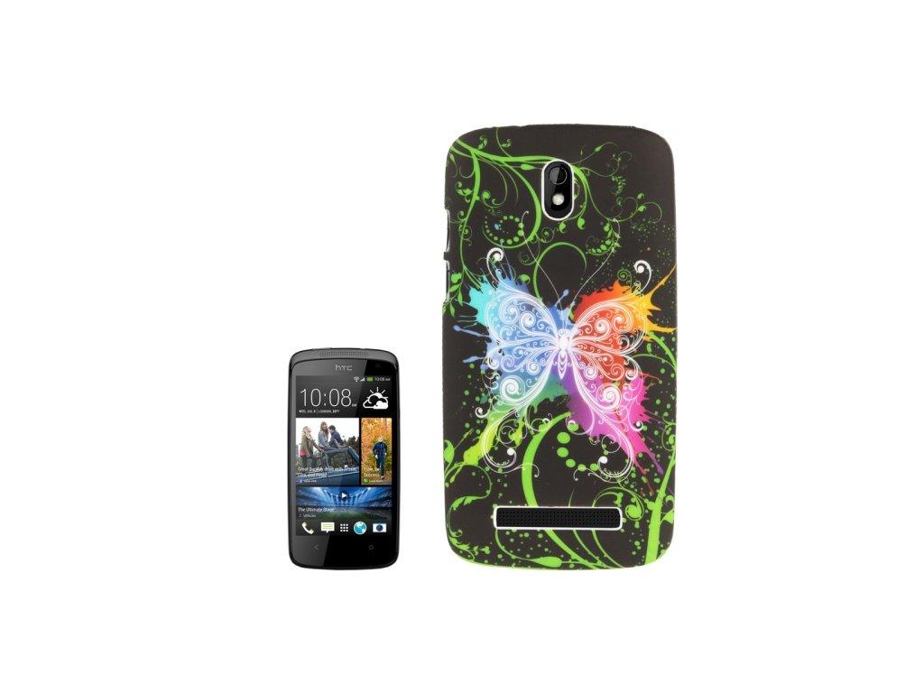 Pouzdro s motýlem pro HTC Desire 500