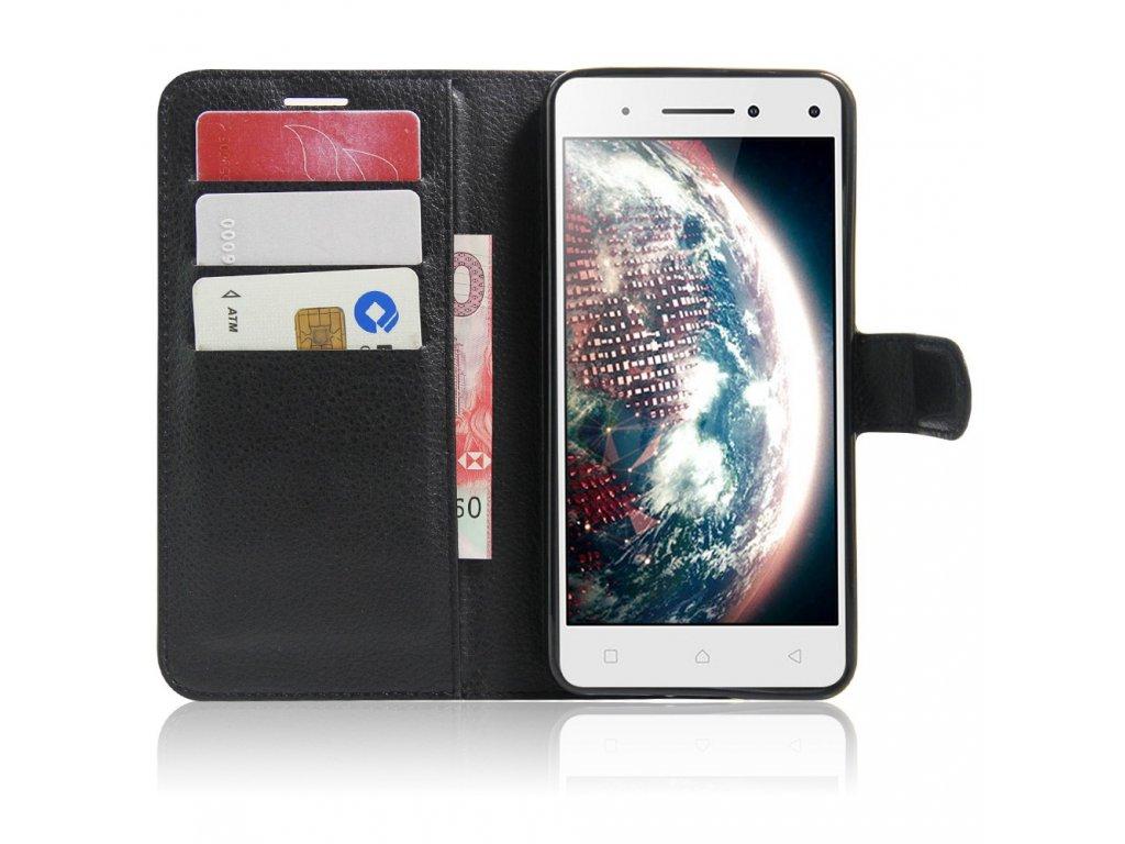 Pouzdro TVC WalletCase pro Lenovo Vibe S1 Lite / Lenovo S1 Lite