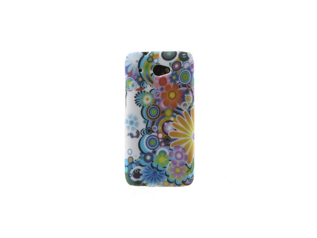 Pouzdro s květinami pro HTC Desire 601