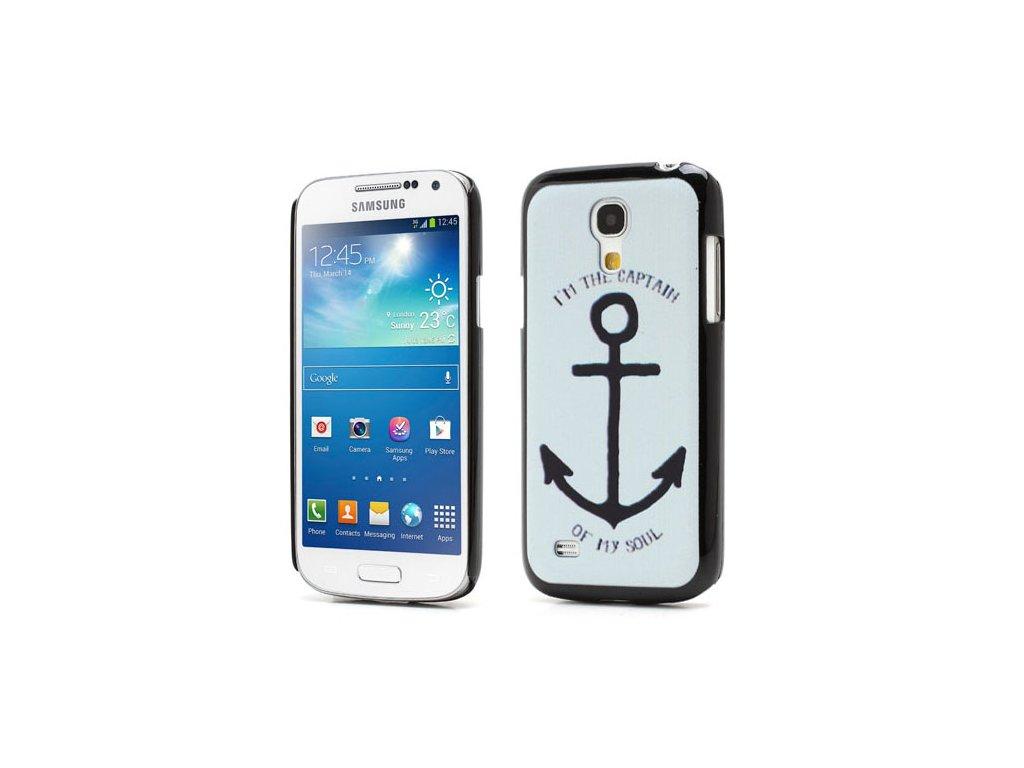 Plastové pouzdro TVC s motivem kotvy pro Samsung Galaxy S4 Mini