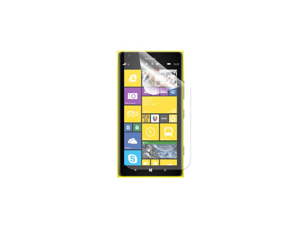 Čirá ochranná fólie pro Nokia Lumia 1320