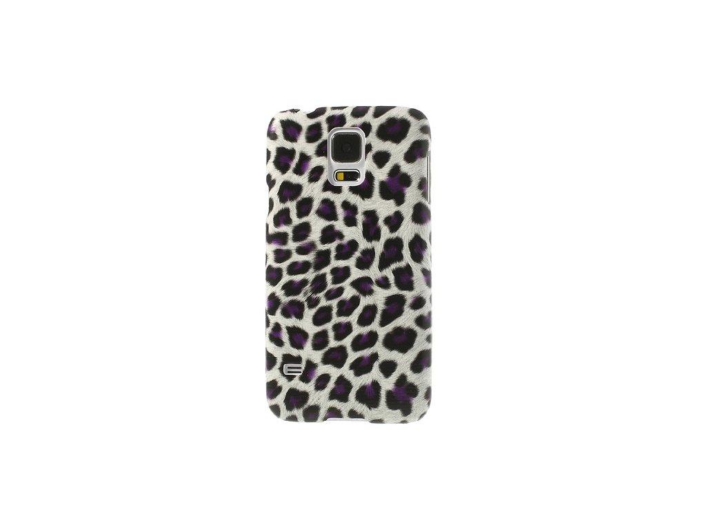 Pouzdro s leopardím vzorem pro Samsung Galaxy S5