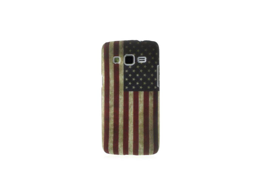 Pouzdro s americkou vlajkou pro Samsung Galaxy Express 2