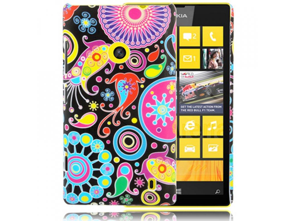 Pouzdro s moderním vzorem pro Nokia Lumia 520