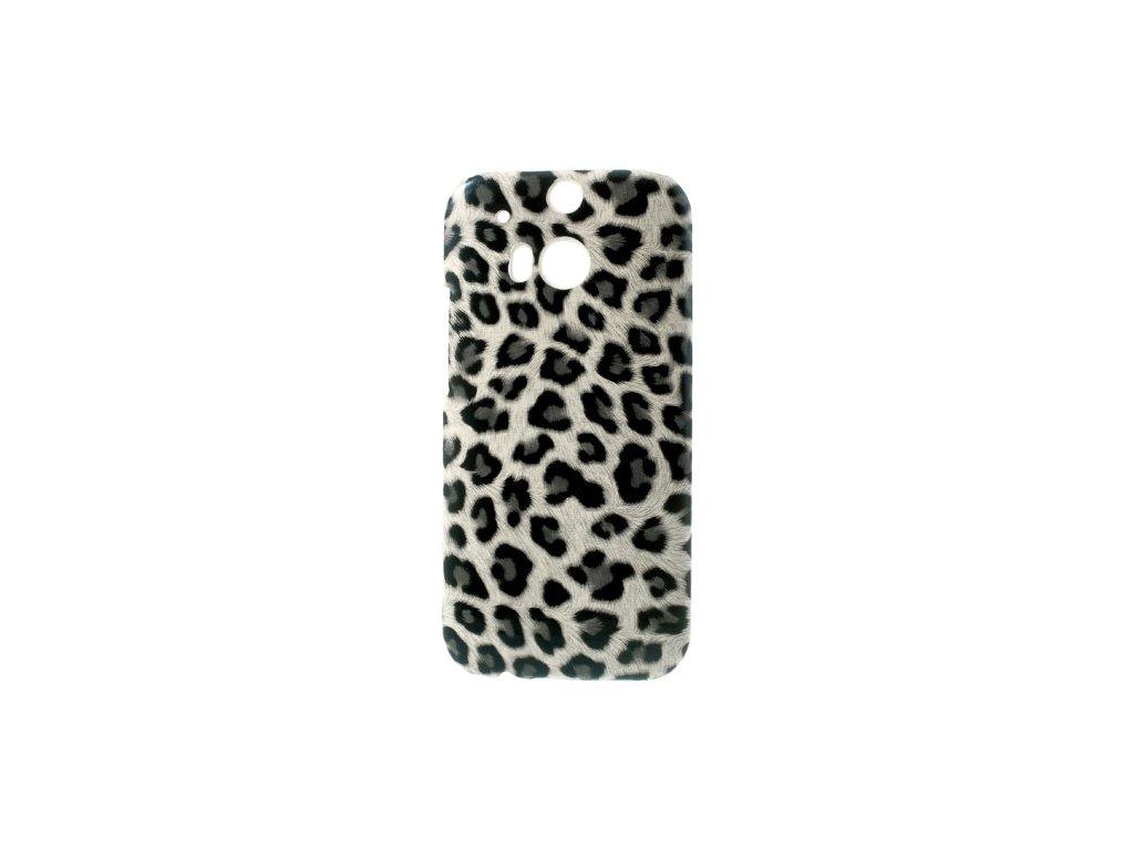 Pouzdro s leopardím vzorem pro HTC One M8