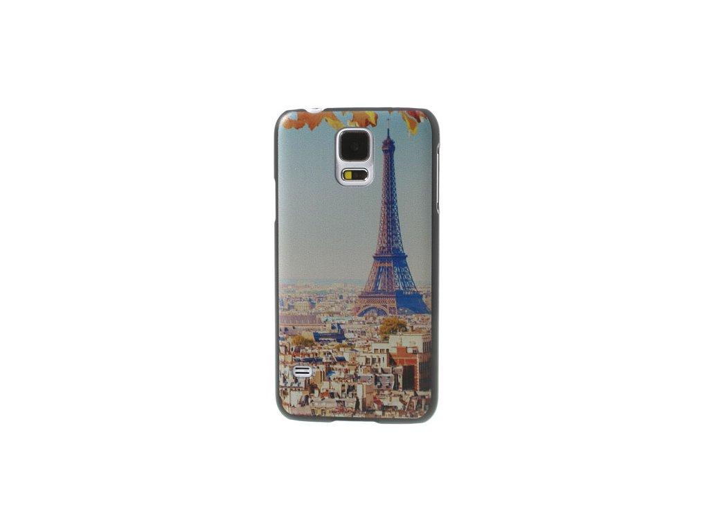 Pouzdro s Eiffelovou věží pro Samsung Galaxy S5