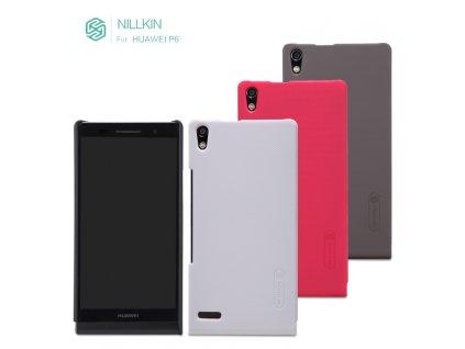 Vroubkované pouzdro Nillkin pro Huawei Ascend P6