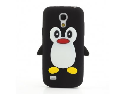 Gumové pouzdro TVC s tučňákem pro Samsung Galaxy S4 Mini